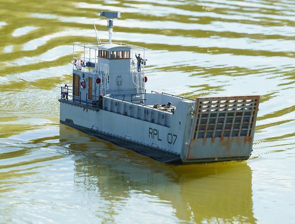 Nick Leaper, RPL 07, Ramp Powered Lighter, SRCMBC, Small Tank Landing Craft, Solent Radio Control Model Boat Club