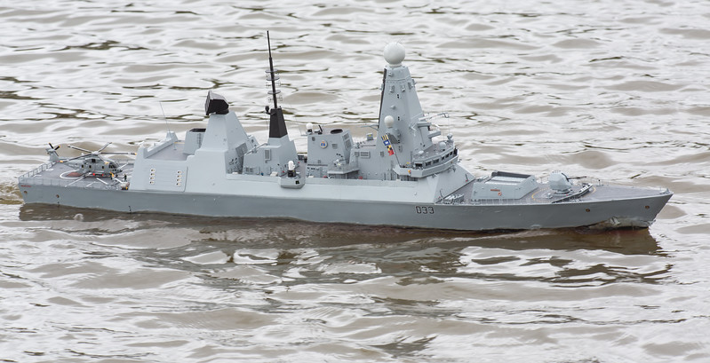 D33, Daring Class Type 45 Air Defence destroyer, David McNair-Taylor, HMS Dauntless, SRCMBC, Solent Radio Control Model Boat Club
