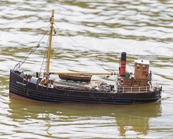 Brian Rapley, Clyde Puffer, Merchant Ship, Northlight, SRCMBC, Solent Radio Control Model Boat Club