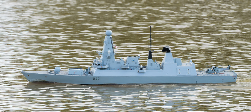 D33, Daring Class Type 45 Air Defence destroyer, David McNair-Taylor, HMS Dauntless, SRCMBC, Setley Pond, Solent Radio Control Model Boat Club