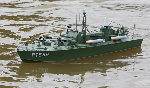 MTB PT596, Ray Hellicar, SRCMBC, Solent Radio Control Model Boat Club, US fast Patrol Boat