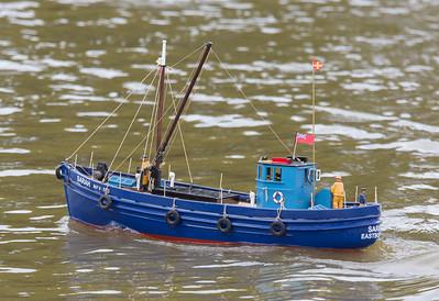 MFV 723, SRCMBC, Sarah, Solent Radio Control Model Boat Club, fISHING BOAT