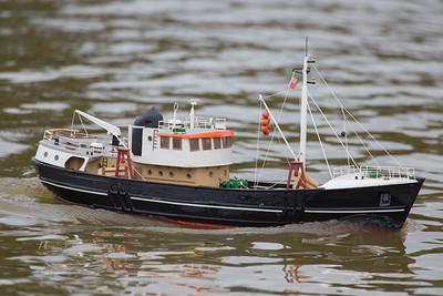 476, Nordkap, Reg Radley, SRCMBC, Solent Radio Control Model Boat Club, Swedish fishing boat, trawler