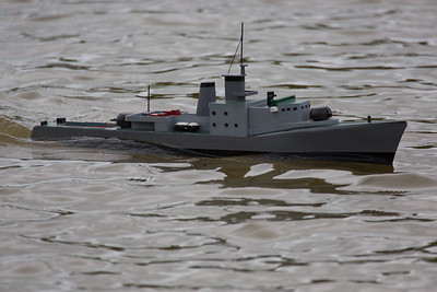 SRCMBC, Small warship model, Solent Radio Control Model Boat Club, Warship 4