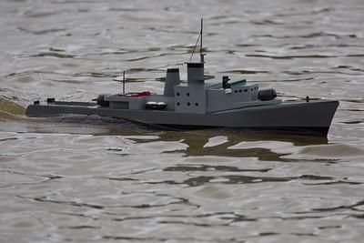 SRCMBC, Small warship model, Solent Radio Control Model Boat Club, Warship 4