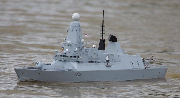 D33, Daring Class Type 45 Air Defence destroyer, David McNair-Taylor, HMS Dauntless, SRCMBC, Solent Radio Control Model Boat Club