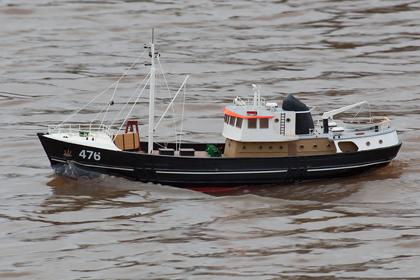 476, Nordkap, Reg Radley, SRCMBC, Solent Radio Control Model Boat Club, Swedish fishing boat, trawler