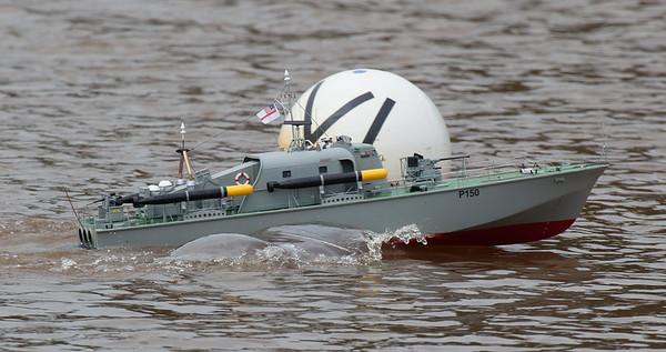 150, David McNair-Taylor, MTB, Perkasa, Perkasa classpatrol boat, SRCMBC, Solent Radio Control Model Boat Club