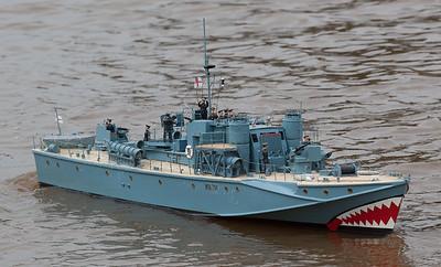 MTB 794, Ray Hellicar, Royal Navy Motor Torpedo Boat, SRCMBC, Solent Radio Control Model Boat Club