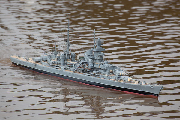 David Reith, German Heavy Cruiser, Prinz Eugen, SRCMBC, Solent Radio Control Model Boat Club