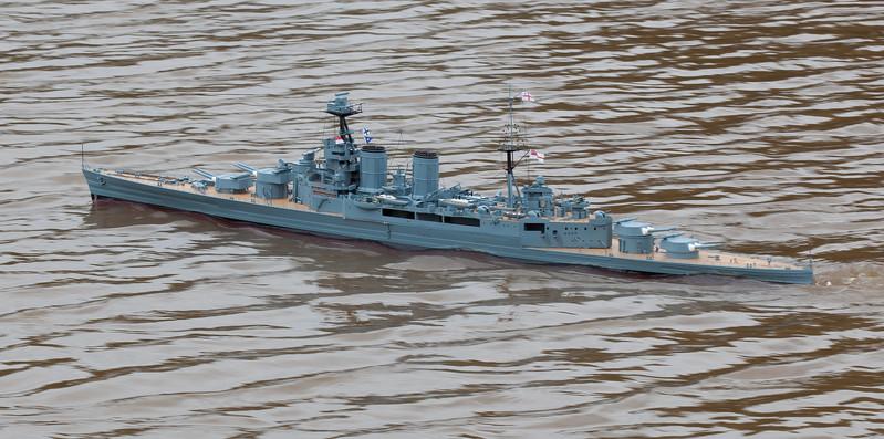 David McNair-Taylor, HMS Hood, SRCMBC, Solent Radio Control Model Boat Club