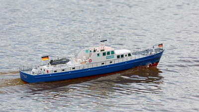 320, David Hardy, German Police Launch, Helgoland, POLIZEI, SRCMBC, Setley Pond, Solent Radio Control Model Boat Club