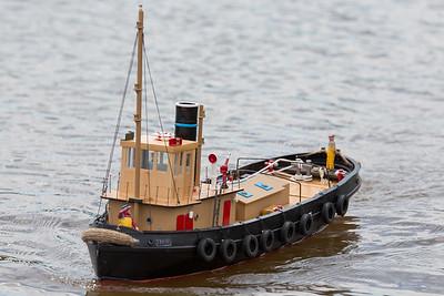 John Tybjerg, SRCMBC, Setley Pond, Solent Radio Control Model Boat Club, Thor, harbour tug