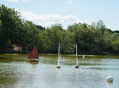 SRCMBC, Setley Pond, Solent Radio Control Model Boat Club