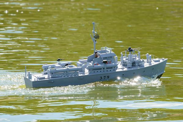 MTB379, SRCMBC, Setley Pond, Solent Radio Control Model Boat Club