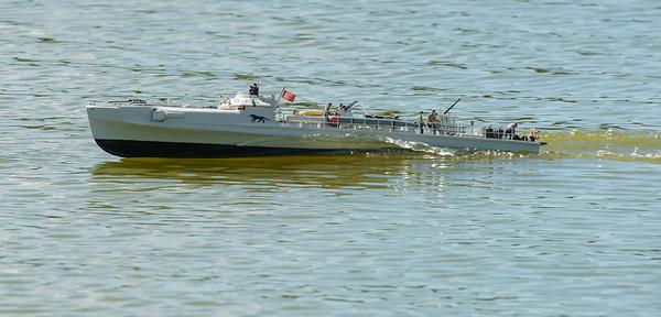 203, David McNair-Taylor, S180 E-Boat, SRCMBC, Setley Pond, Solent Radio Control Model Boat Club