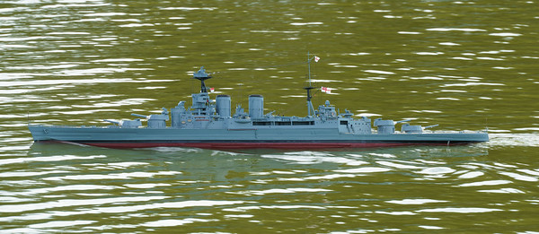 David McNair-Taylor, HMS Hood, Navy Day 2016, SRCMBC, Setley Pond, Solent Radio Control Model Boat Club