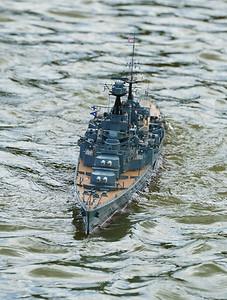 David McNair-Taylor, HMS Hood, Navy Day 2016, SRCMBC, Setley Pond, Solent Radio Control Model Boat Club
