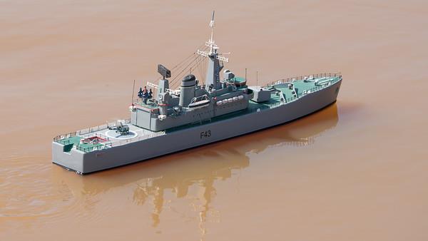 Satley Pond, SRCMB, Navy Day 2018, SRCMB-> Hardy Maritime Fleet-> HMS Hero - 08/07/2018@10:23