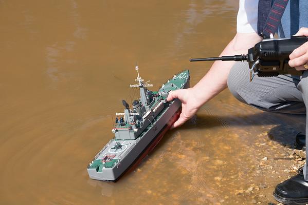 Satley Pond, SRCMB, Navy Day 2018, SRCMB-> Hardy Maritime Fleet-> HMS Hero - 08/07/2018@10:16