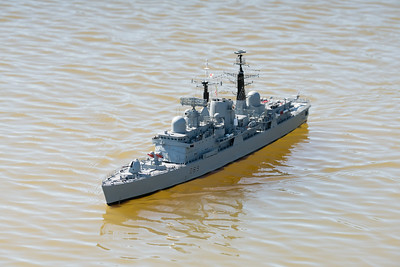 D89, David McNair-Taylor, HMS Exeter, SRCMBC, Solent Radio Control Model Boat Club, Type 42 Destroyer