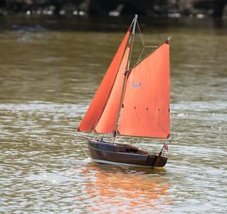 Chch, Mudlark, Roy Metcalfe, SRCMBC, Solent Radio Control Model Boat Club