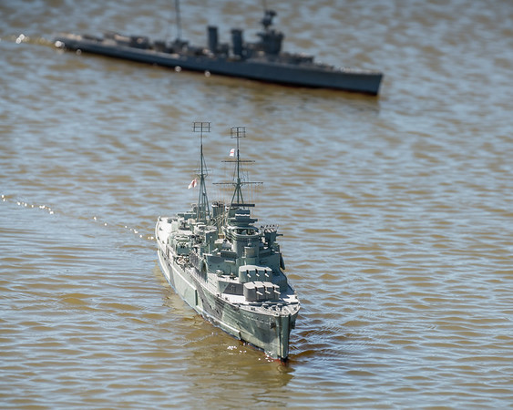 Crown Colony-class light cruiser, David Reith, HMS Mauritius, SRCMBC, Solent Radio Control Model Boat Club, Supermarine Walrus