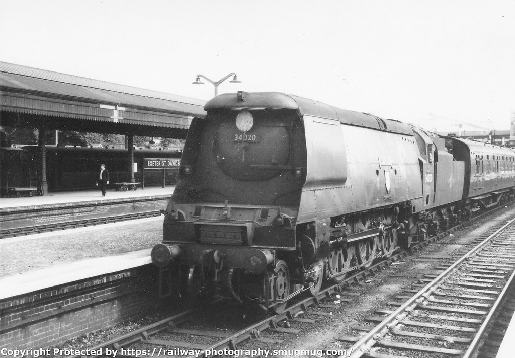 Locomotives of the Big Four : Bulleid Light Pacifics : B R