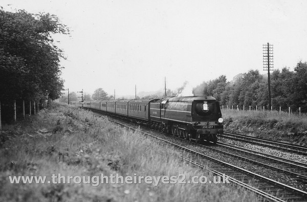 21C127 St Mary Cray Junction...down train