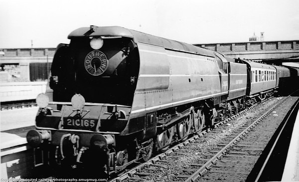21C165 (yet to be named Hurricane) Bulleid West Country-BoB class