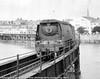 21C102 Salisbury Crossing the Taw viaduct between Barnstaple Town and Barnstaple Jn