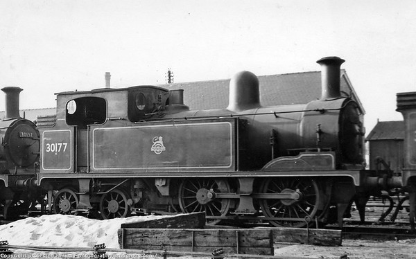 30177 Adams O2 class 0-4-4T