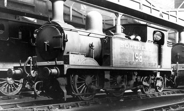 198 Adams O2 class 0-4-4T