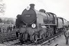 31639+34015 Exmouth at Evercreech Junction facing towards Bath+Glastonbury RCTS Somerset+Dorset tour 2-1-1966 (1)