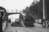31792 West Moors with a train from Salisbury via the Fordingbridge line.