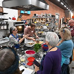 Lamb cooking class at the Kitchen Company in Longmont, CO, USA on January 11, 2020.
