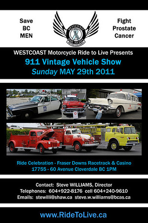 2011 Classic Vehicle Show & Shine poster
