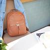 Mini Beaux Leather Backpack 20-402-CAR