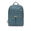 "Mayfair; Luxe; Beaux; Leather Backpack; 14""; 120-401-STB;Front"