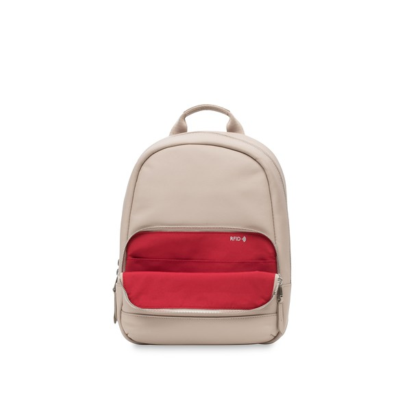 """Mayfair; Luxe; Mini Mount; Leather Backpack; 10""""; 120-405-CCT;Internal Pocket Empty"""