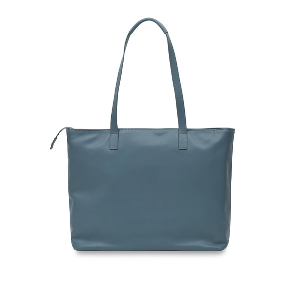 "Mayfair; Luxe; Maddox; Leather Tote; 15""; 120-204-STB;Back"