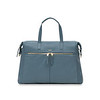 "Mayfair; Luxe ;Audley; Leather Handbag; 14""; 120-101-STB ;Front"