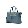 "Mayfair; Luxe ;Audley; Leather Handbag; 14""; 120-101-STB ;Three Quarter"