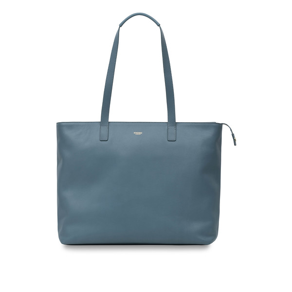 """Mayfair; Luxe; Maddox; Leather Tote; 15""""; 120-204-STB;Front"""