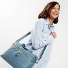 "Mayfair; Luxe ;Audley; Leather Handbag; 14""; 120-101-STB ;On the model"