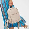 "Mayfair; Luxe; Mini Mount; Leather Backpack; 10""; 120-405-CCT;On the model"