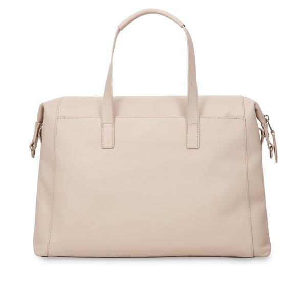 "Mayfair; Luxe; Audley; Leather Handbag; 14""; 120-101-CCT;Back"