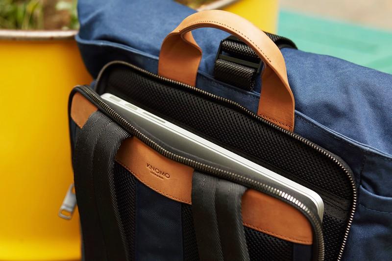 Fulham;Novello;Rolltop Backpack;15'';159-402-NKW;Internal Tech Pocket