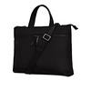Dalston; Copenhagen; Briefcase; Black; 129-101-BLK2; 3 Quarter with strap; 1MB