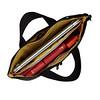 Dalston; Copenhagen; Briefcase; Black; 129-101-BLK2; open with items; 1MB